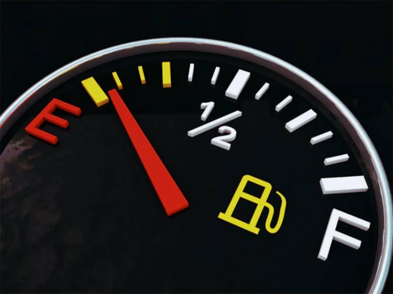 Индикатор уровня бензина