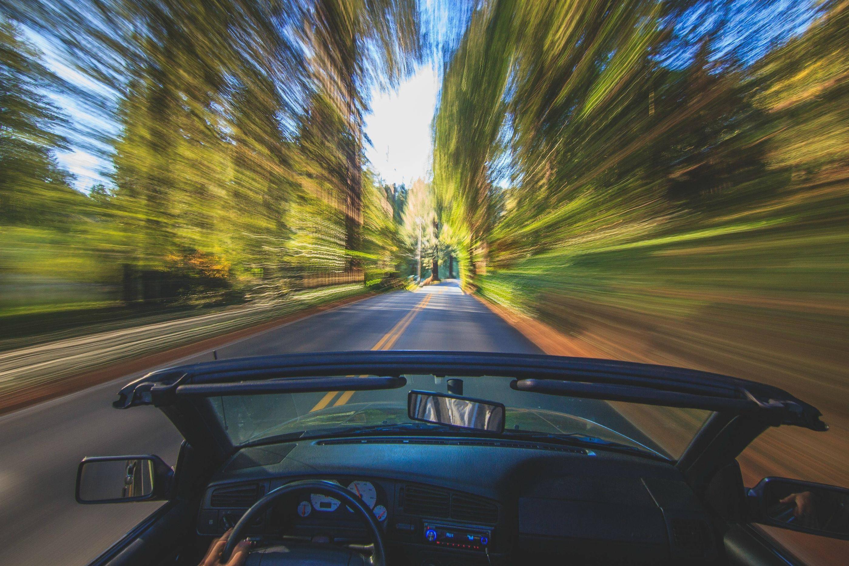 Картинки с движением машин